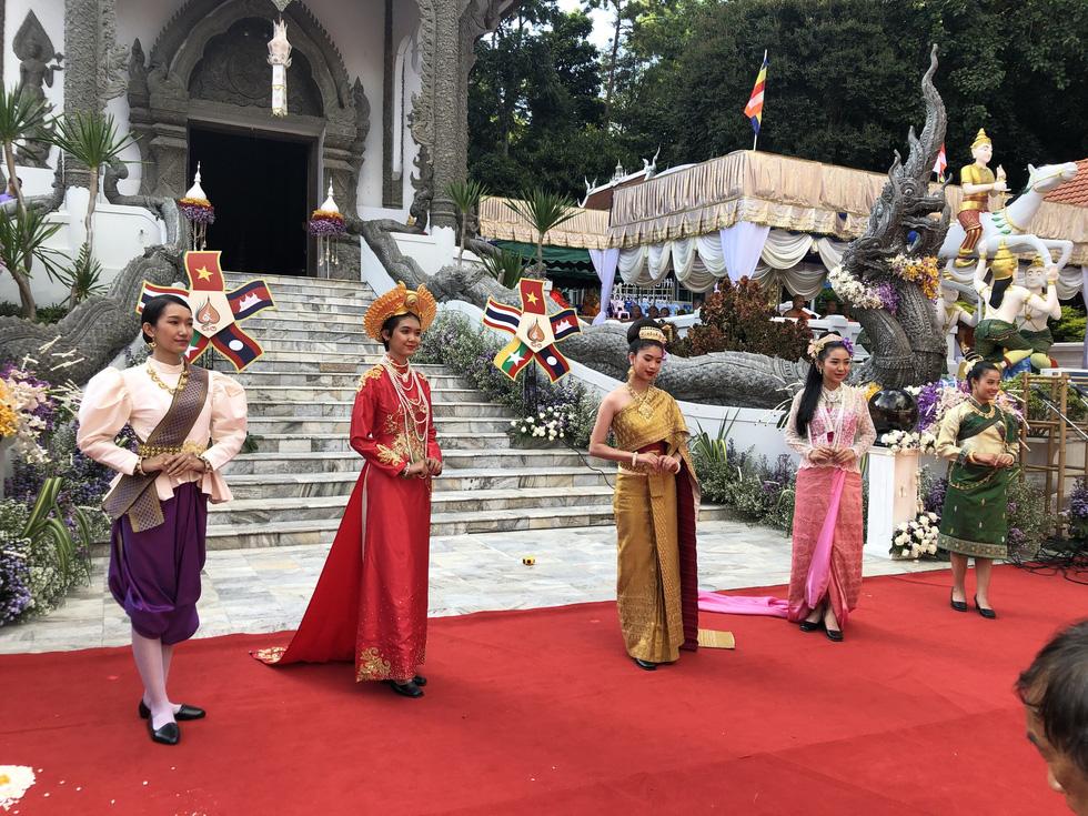 5 nước dọc Mekong giao lưu Phật giáo vì 'hoà bình khu vực' - Ảnh 8.