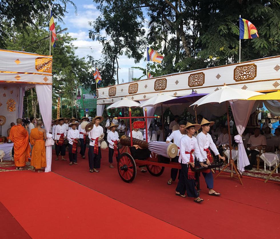 5 nước dọc Mekong giao lưu Phật giáo vì 'hoà bình khu vực' - Ảnh 10.