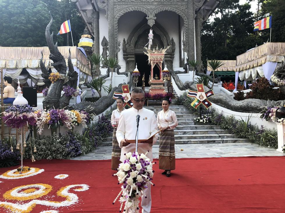 5 nước dọc Mekong giao lưu Phật giáo vì 'hoà bình khu vực' - Ảnh 7.