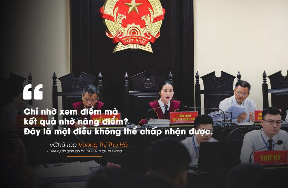 Những câu nói nổi bật trong xét xử vụ án nâng điểm thi Hà Giang - Ảnh 8.