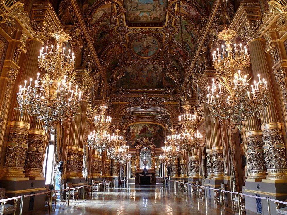 Những tuyệt tác trần nhà đẹp nhất thế giới - Ảnh 10.