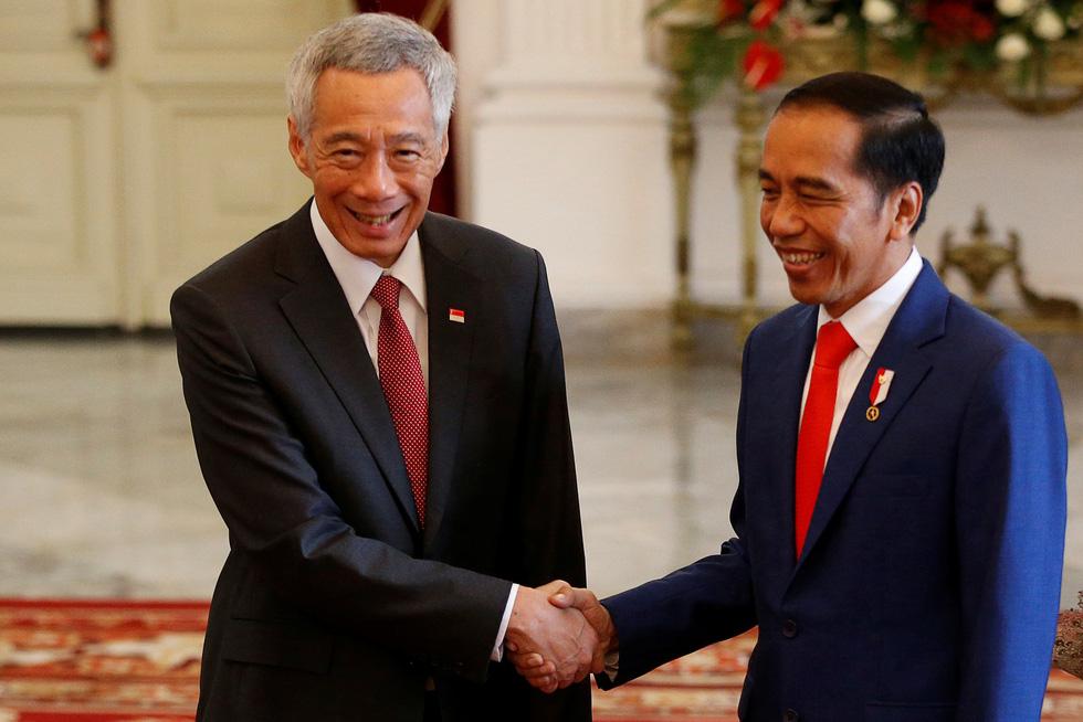 Tổng thống Joko tuyên thệ nhậm chức trong nghi lễ đơn giản - Ảnh 4.