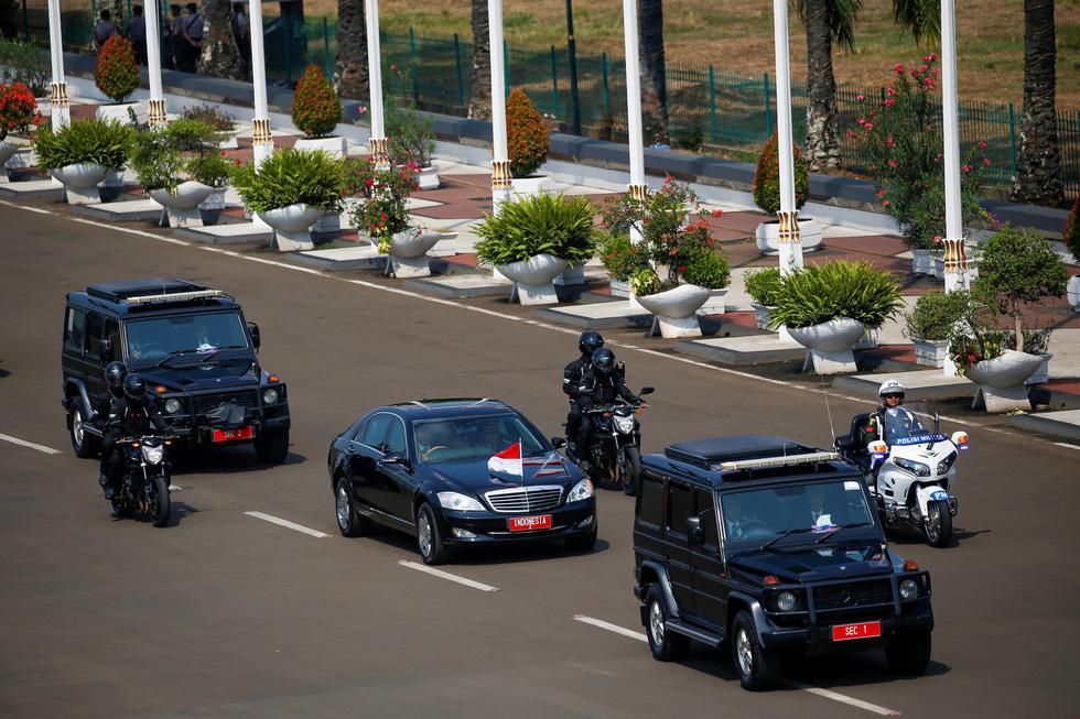 Tổng thống Joko tuyên thệ nhậm chức trong nghi lễ đơn giản - Ảnh 8.