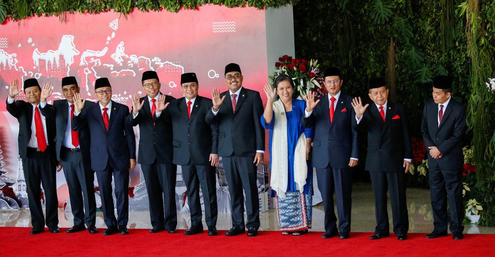 Tổng thống Joko tuyên thệ nhậm chức trong nghi lễ đơn giản - Ảnh 10.