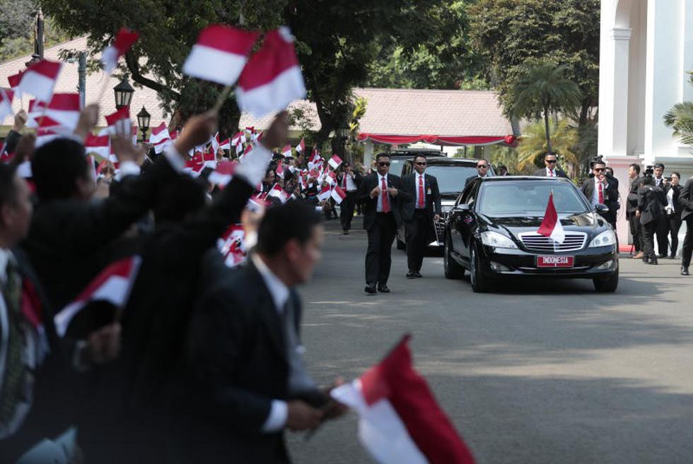 Tổng thống Joko tuyên thệ nhậm chức trong nghi lễ đơn giản - Ảnh 7.