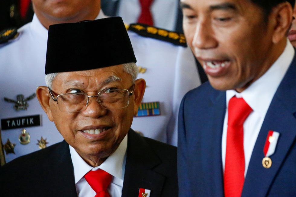 Tổng thống Joko tuyên thệ nhậm chức trong nghi lễ đơn giản - Ảnh 2.