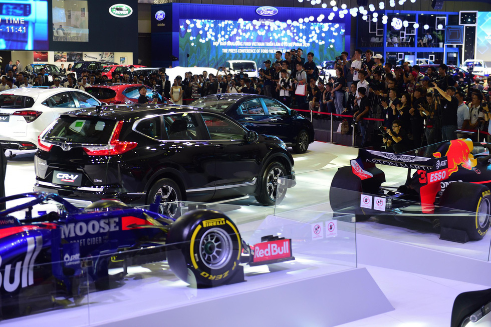 Hàng loạt mẫu xe mới trình làng tại Vietnam Motor Show 2019 - Ảnh 1.