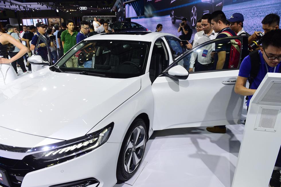 Hàng loạt mẫu xe mới trình làng tại Vietnam Motor Show 2019 - Ảnh 7.
