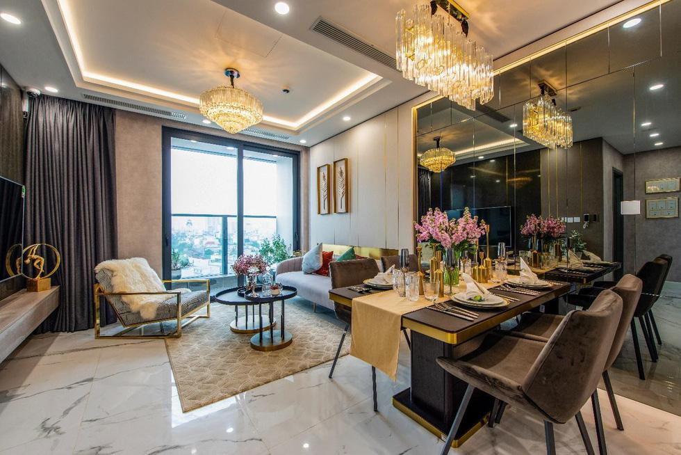 Căn hộ mẫu như khách sạn 5 sao của Sunshine City Sài Gòn - Ảnh 1.