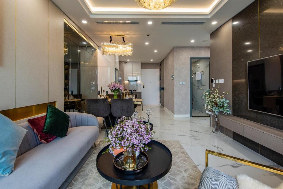 Căn hộ mẫu như khách sạn 5 sao của Sunshine City Sài Gòn - Ảnh 2.