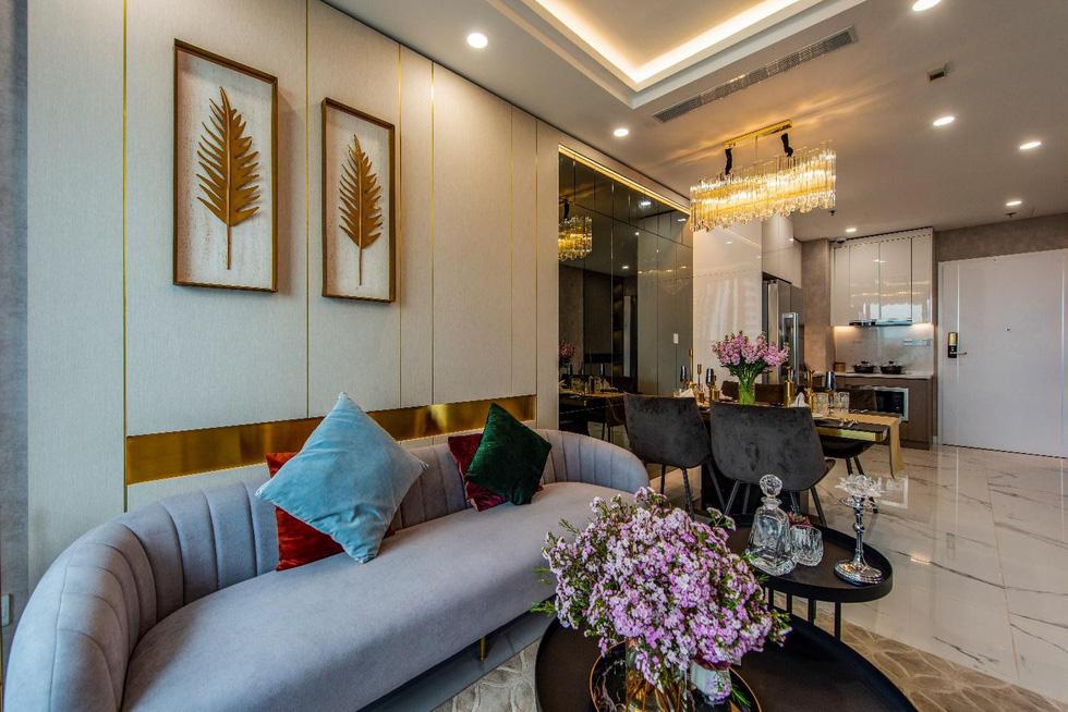 Căn hộ mẫu như khách sạn 5 sao của Sunshine City Sài Gòn - Ảnh 4.