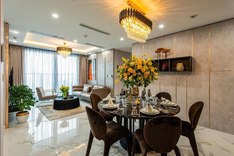 Căn hộ mẫu như khách sạn 5 sao của Sunshine City Sài Gòn - Ảnh 7.