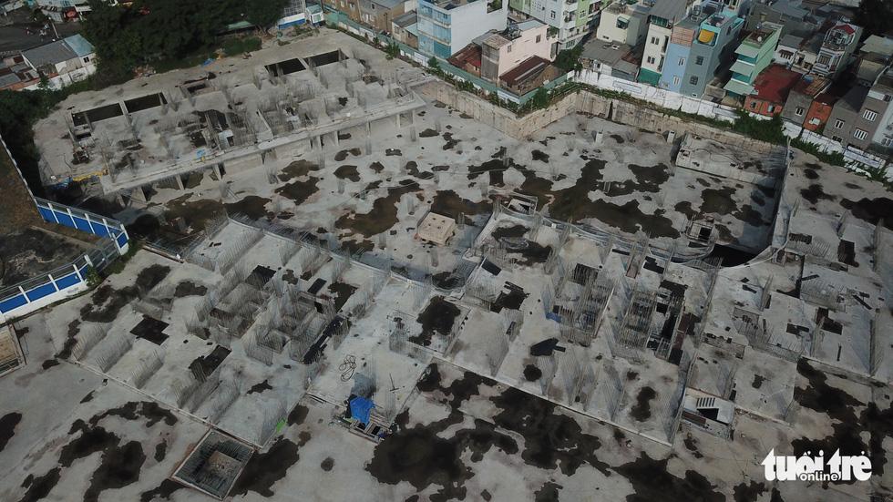 Cận cảnh công trình 35.000m2 xây không phép sẽ bị cưỡng chế tháo dỡ ở TP.HCM - Ảnh 4.