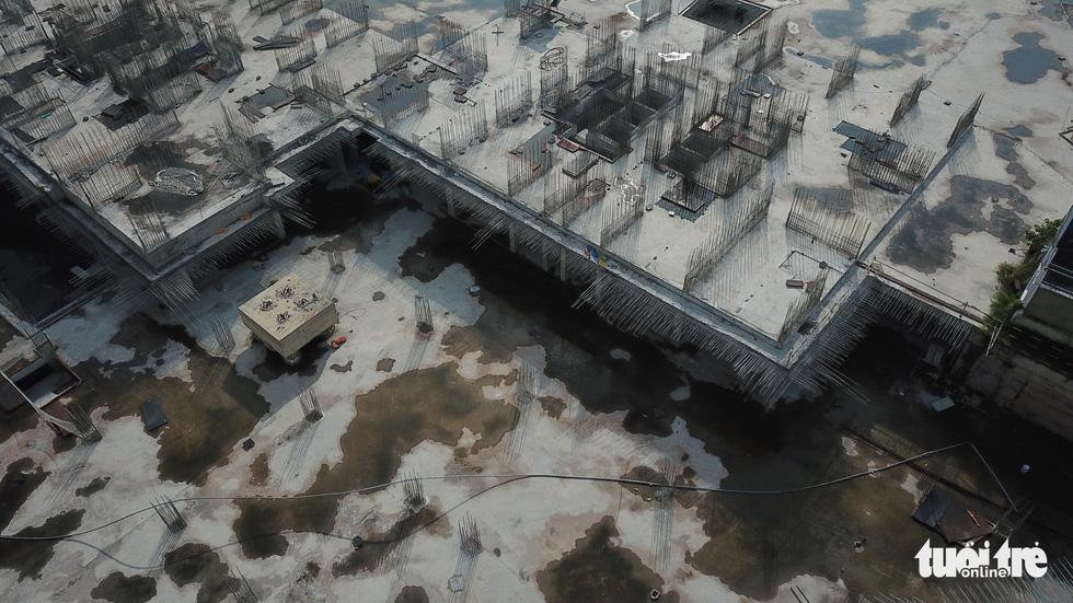 Cận cảnh công trình 35.000m2 xây không phép sẽ bị cưỡng chế tháo dỡ ở TP.HCM - Ảnh 7.