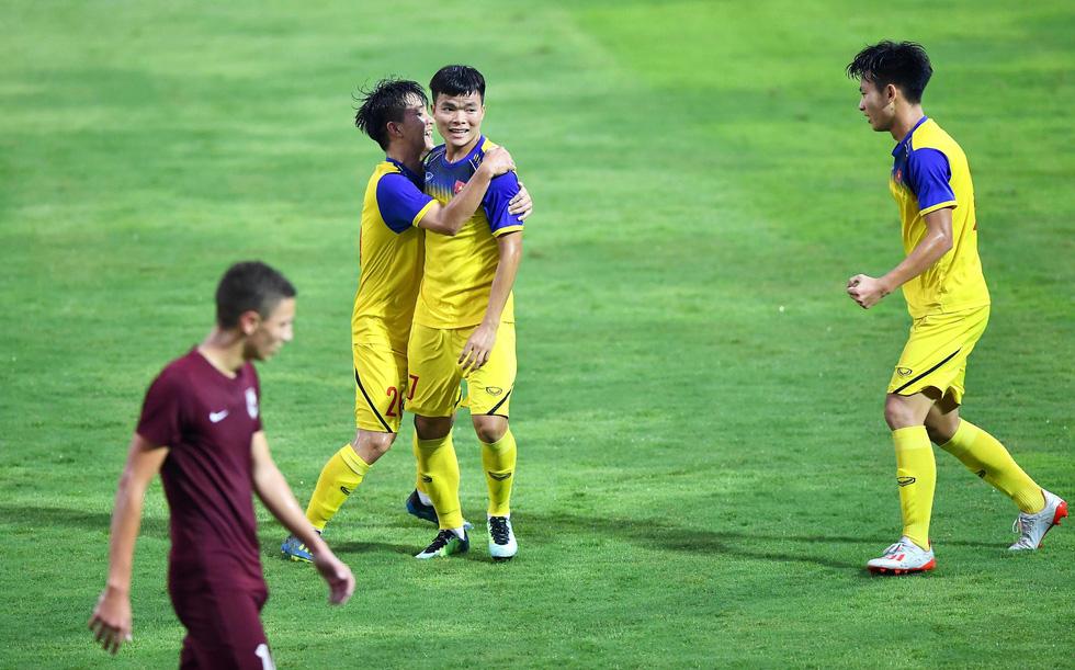 U19 Việt Nam xuất sắc đá bại U19 FK Sarajevo chiều 26-10 - Ảnh 7.