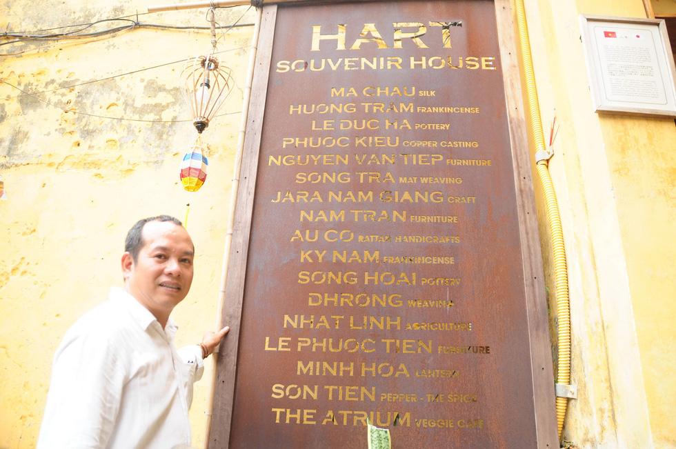 Vị sứ giả đặc biệt của các làng nghề Quảng Nam - Ảnh 4.