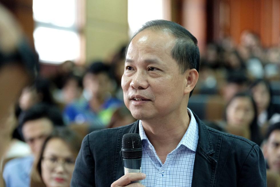 Nhà báo Lê Xuân Trung - phó Tổng biên tập báo Tuổi Trẻ - Ảnh: NAM TRẦN