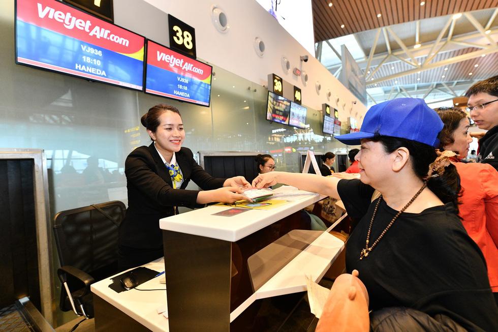 Vietjet khai trương đường bay thẳng đầu tiên đến sân bay Haneda - Ảnh 1.