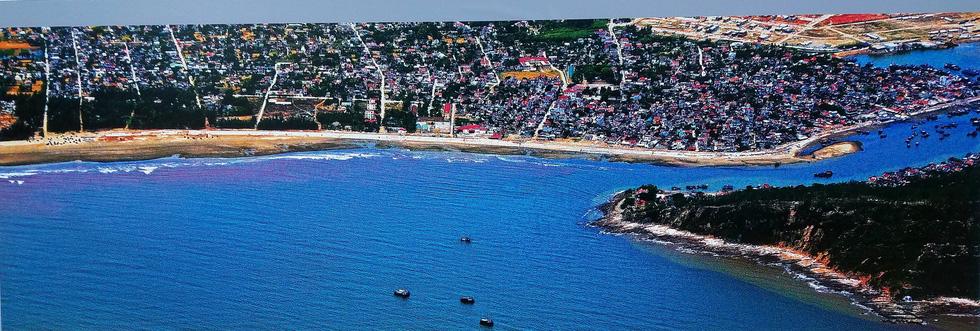 Lộng lẫy và choáng ngợp biển đảo từ trên cao của Giản Thanh Sơn - Ảnh 14.