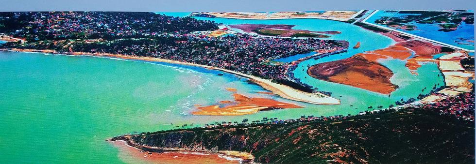 Lộng lẫy và choáng ngợp biển đảo từ trên cao của Giản Thanh Sơn - Ảnh 4.