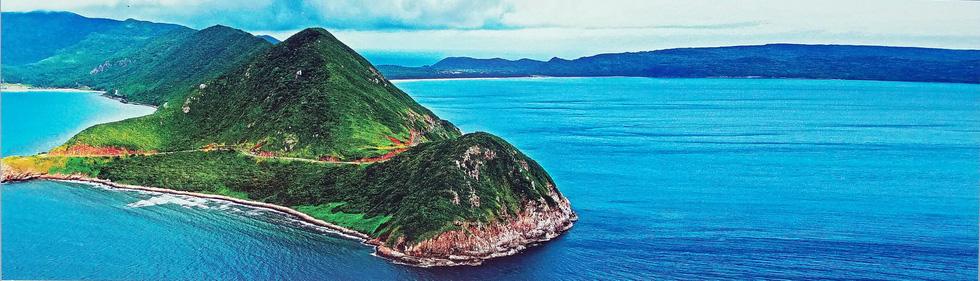 Lộng lẫy và choáng ngợp biển đảo từ trên cao của Giản Thanh Sơn - Ảnh 9.