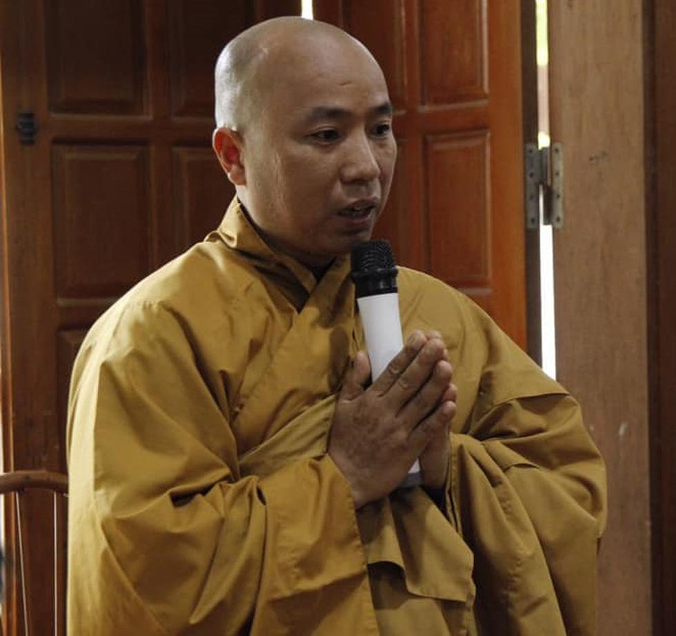 Bãi nhiệm trụ trì của đại đức Thích Thanh Toàn, sư Toàn giờ là Lê Hữu Long - Ảnh 1.