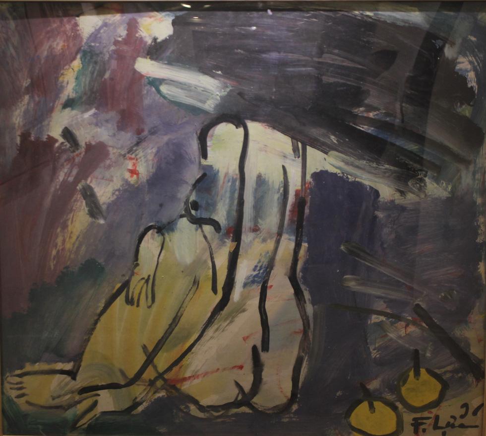 Ngắm muôn vẻ khỏa thân trong tranh của Phạm Lực - Ảnh 6.