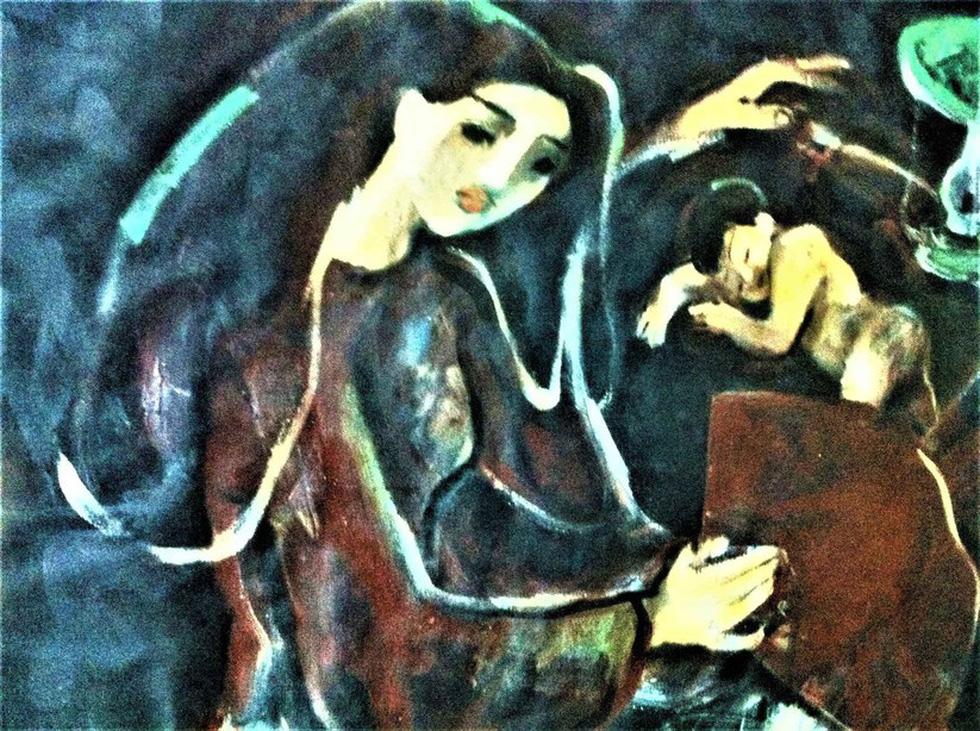 Ngắm muôn vẻ khỏa thân trong tranh của Phạm Lực - Ảnh 7.