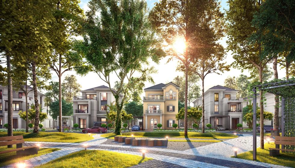 Bài toán đầu tư vào biệt thự tại các đô thị sinh thái ngay sát trung tâm - Ảnh 2.