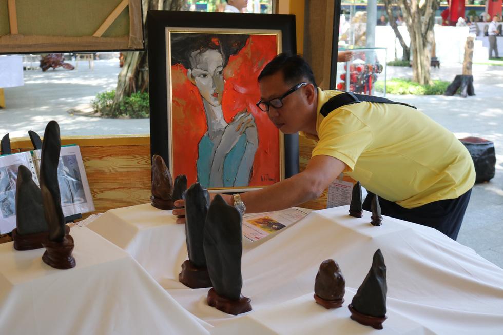 Chiêm ngưỡng những tác phẩm bonsai, suiseki tiền tỉ - Ảnh 11.