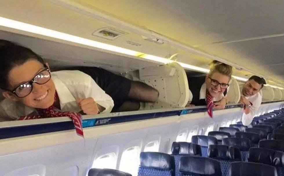 Các nữ tiếp viên xinh đẹp làm gì khi máy bay ế khách? - Ảnh 4.
