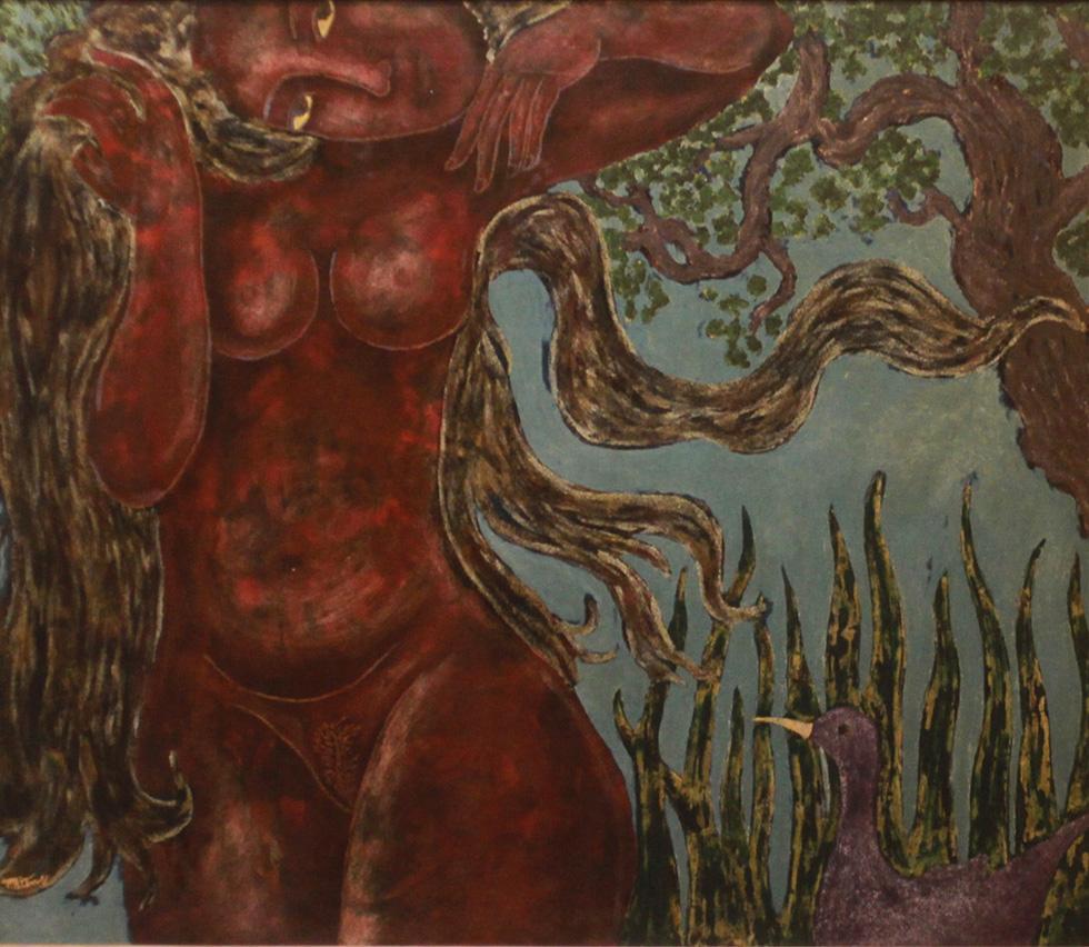 Thưởng lãm tranh và trải nghiệm nghệ thuật số - Ảnh 5.