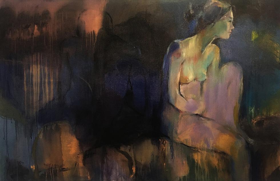 Thưởng lãm tranh và trải nghiệm nghệ thuật số - Ảnh 7.