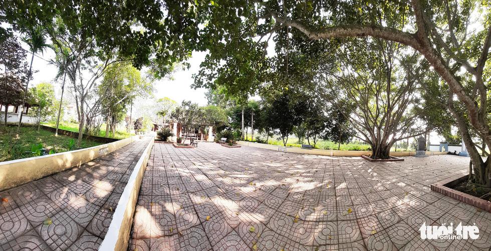 Toàn cảnh chùa Linh Sâm triệu đô xây chui trên đất di tích đền cổ - Ảnh 4.
