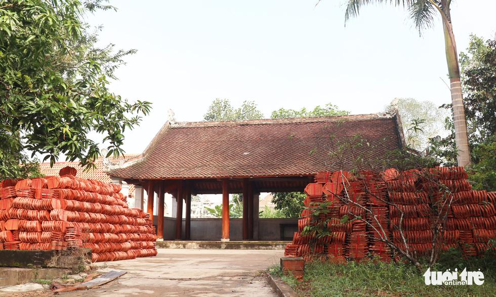 Toàn cảnh chùa Linh Sâm triệu đô xây chui trên đất di tích đền cổ - Ảnh 8.