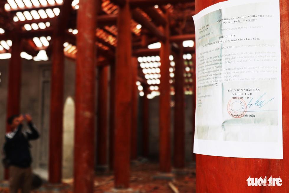Toàn cảnh chùa Linh Sâm triệu đô xây chui trên đất di tích đền cổ - Ảnh 17.