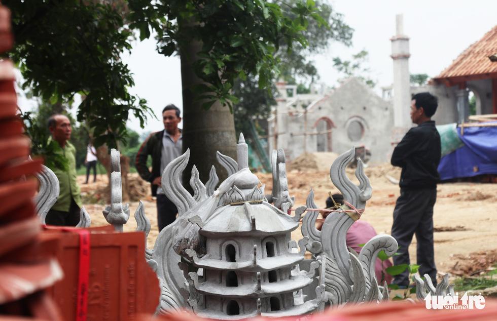 Toàn cảnh chùa Linh Sâm triệu đô xây chui trên đất di tích đền cổ - Ảnh 10.