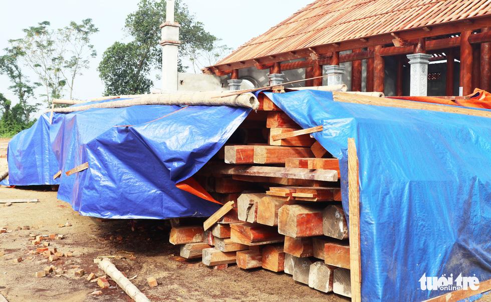 Toàn cảnh chùa Linh Sâm triệu đô xây chui trên đất di tích đền cổ - Ảnh 7.