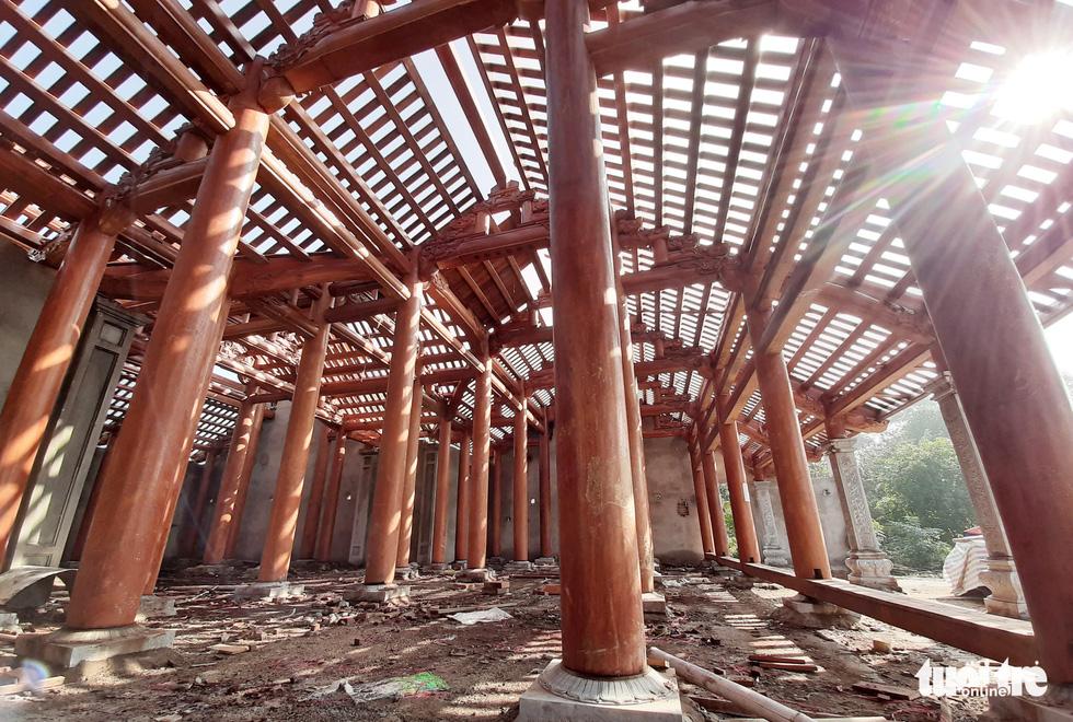 Toàn cảnh chùa Linh Sâm triệu đô xây chui trên đất di tích đền cổ - Ảnh 12.