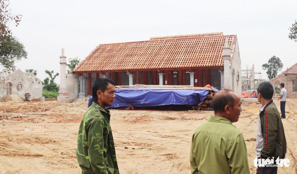 Toàn cảnh chùa Linh Sâm triệu đô xây chui trên đất di tích đền cổ - Ảnh 6.