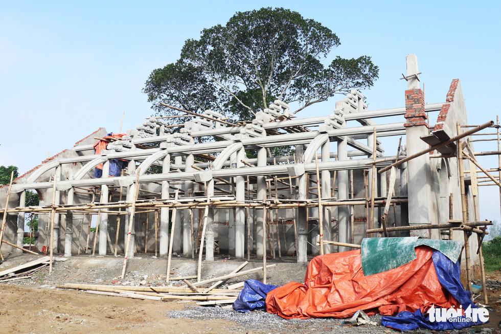 Toàn cảnh chùa Linh Sâm triệu đô xây chui trên đất di tích đền cổ - Ảnh 16.