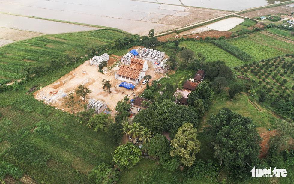 Toàn cảnh chùa Linh Sâm triệu đô xây chui trên đất di tích đền cổ - Ảnh 2.