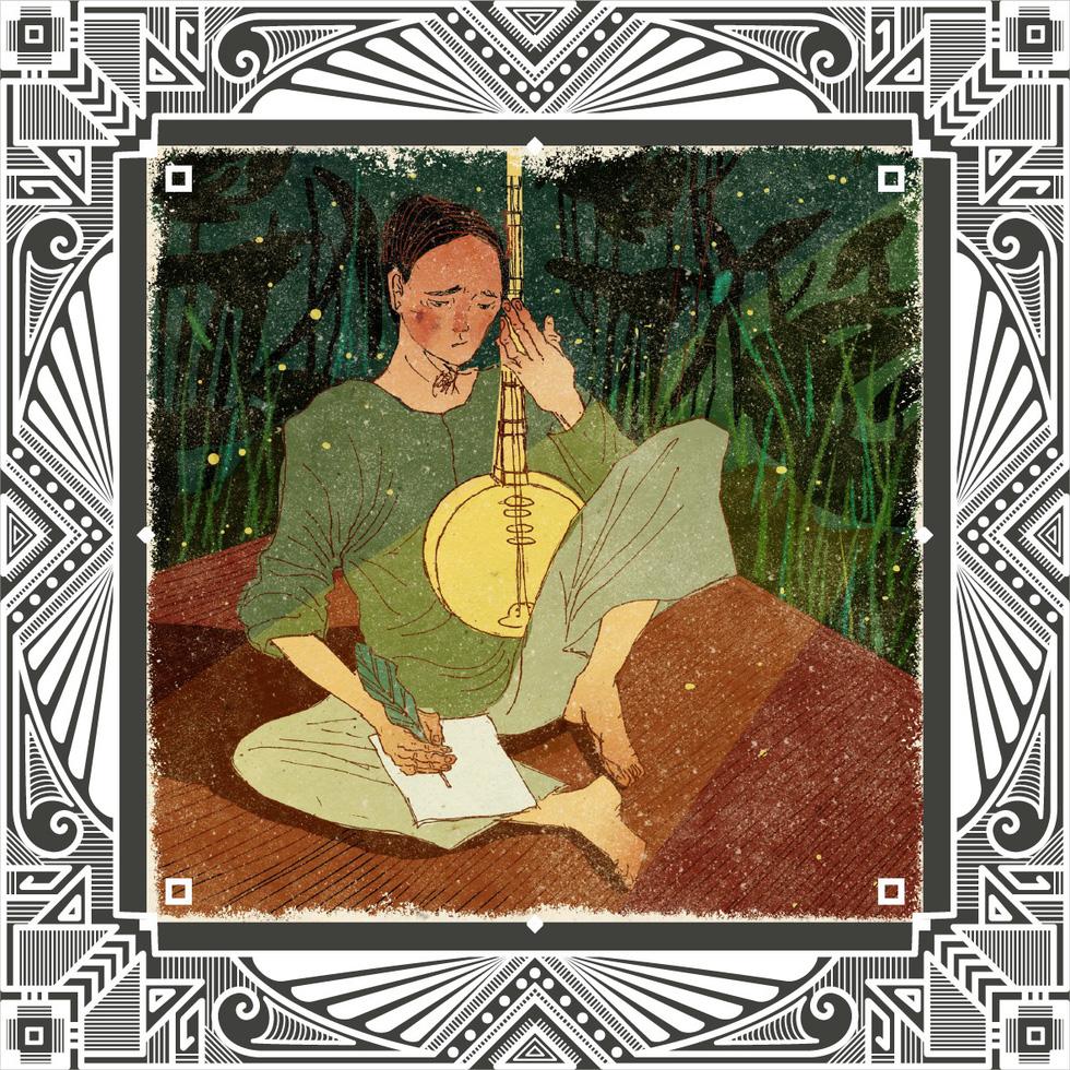 Trăm năm Dạ cổ hoài lang, ngắm bộ tranh về cuộc đời của Cao Văn Lầu - Ảnh 14.