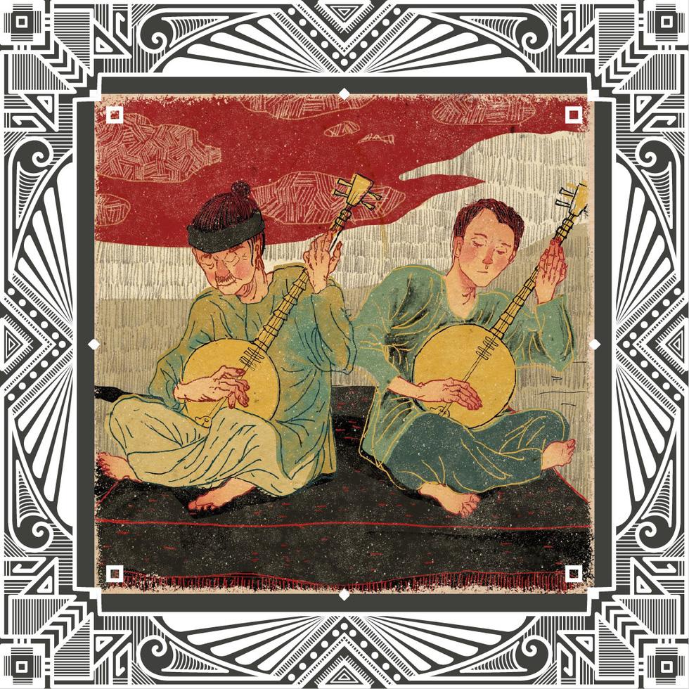Trăm năm Dạ cổ hoài lang, ngắm bộ tranh về cuộc đời của Cao Văn Lầu - Ảnh 6.