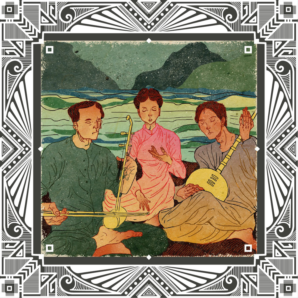 Trăm năm Dạ cổ hoài lang, ngắm bộ tranh về cuộc đời của Cao Văn Lầu - Ảnh 7.