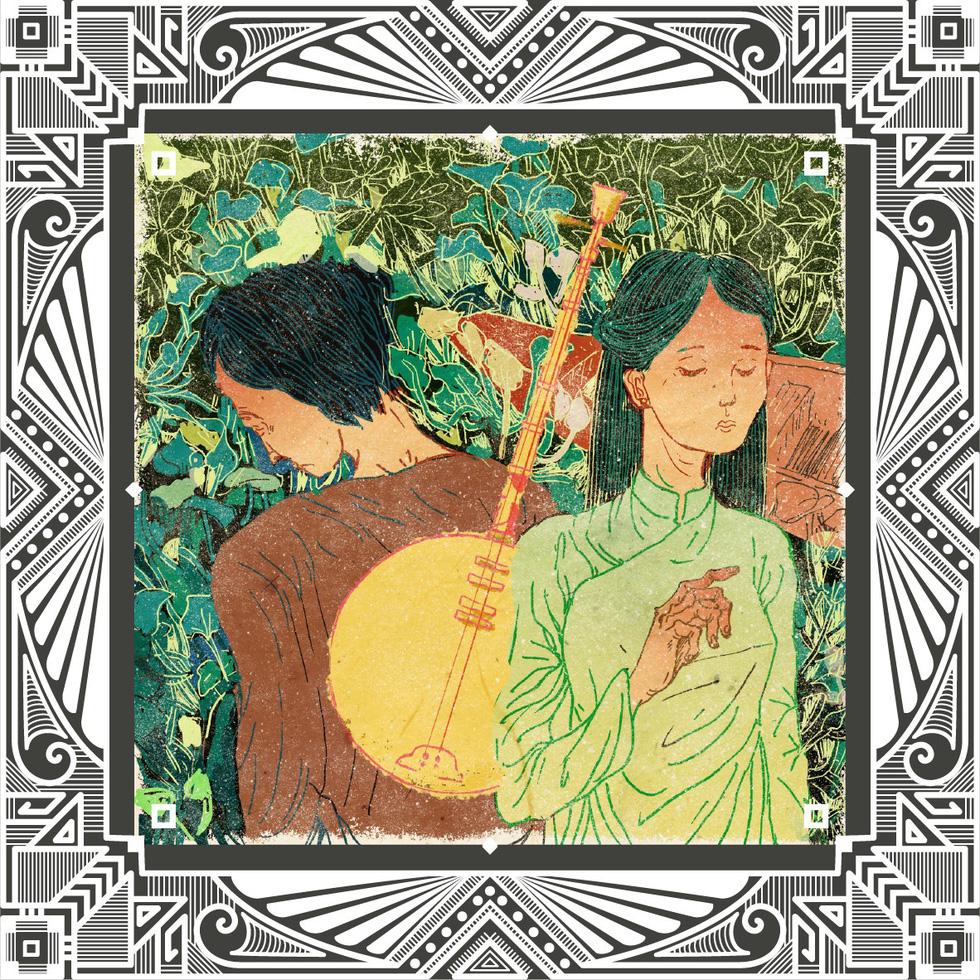 Trăm năm Dạ cổ hoài lang, ngắm bộ tranh về cuộc đời của Cao Văn Lầu - Ảnh 1.