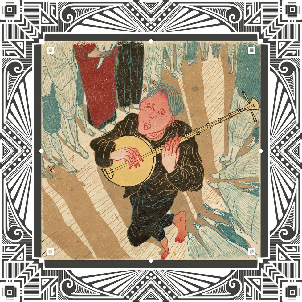 Trăm năm Dạ cổ hoài lang, ngắm bộ tranh về cuộc đời của Cao Văn Lầu - Ảnh 9.