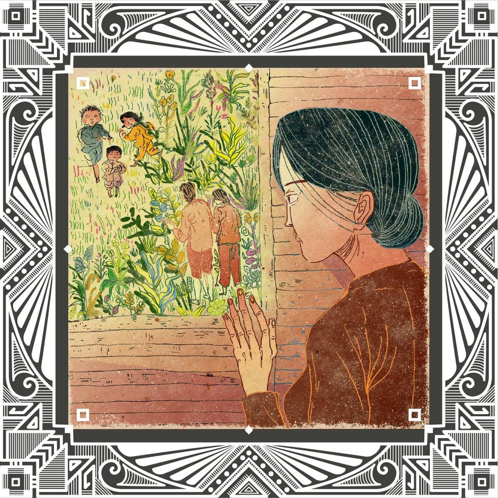 Trăm năm Dạ cổ hoài lang, ngắm bộ tranh về cuộc đời của Cao Văn Lầu - Ảnh 11.