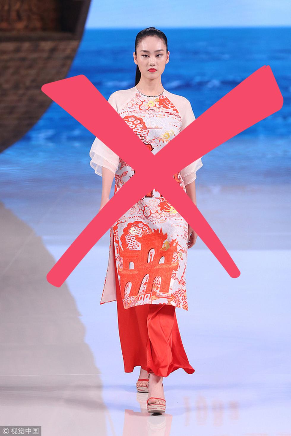 Nhà thiết kế Trung Quốc từng xài mẫu áo dài Việt, giờ nói về phẩm giá trang phục Trung Quốc - Ảnh 5.