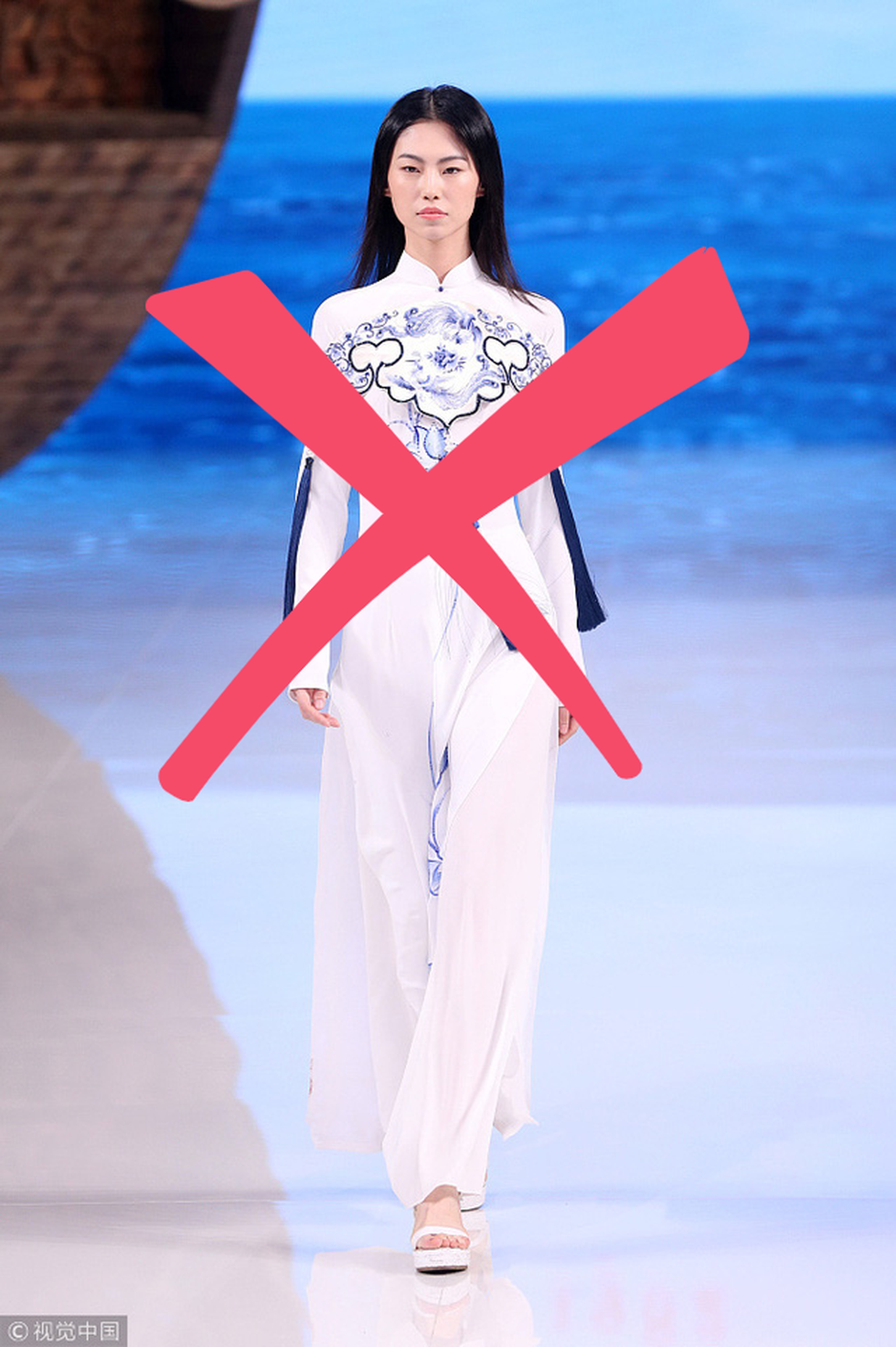 Nhà thiết kế Trung Quốc từng xài mẫu áo dài Việt, giờ nói về phẩm giá trang phục Trung Quốc - Ảnh 6.